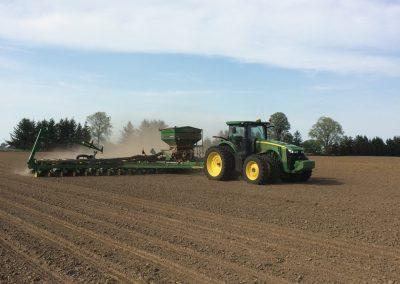 Planting Sweet Corn